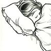ursamajor: asleep (goodnight sweetheart (curl))