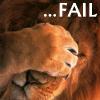 unixronin: Lion facepalm (Facepalm)