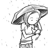 ursamajor: girl in the rain (tell their beads in drops of rain (home)