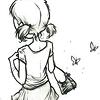ursamajor: girl in sundress (cute as can be (met a boy))