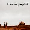 """tea: """"I am no prophet"""" (not a prophet)"""