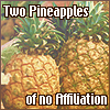 chromotherapy: (Two Pineapples)