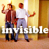 sloth: from the television show psych, shawn and gus not at all invisible (invisible)