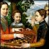 lavendertook: 16thC sisters playing chess (strategy, grrl gamers, gaming)