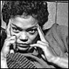 lavendertook: eartha kitt with fingers to the sides of her head (can kill u with my brain)
