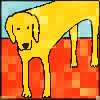 my_cnnr: yellow dog (Default)