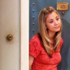 serenityveritas: Picture of Penny from the Big Bang Theory, by the door to Leonard and Sheldon's apartment. (Penny)