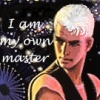ilyena_sylph: LJ Smith's Julian, text 'I am my own master' (Julian)