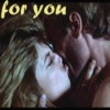 ilyena_sylph: sarah and kyle kissing, text 'for you' (Terminator: for you)