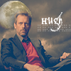 blackpearl_phan: hugh laurie sitting in a chair with the moon behind him (hugh moon)