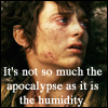 "lavendertook: frodo on mount doom "". . . as it is the humidity"" (its not so much the apocalypse)"
