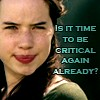 randomreader: Susan from Narnia asks if it's time to be critical again already (susan judges you)