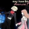 ammchan: (p3: yukari and aigis dance)