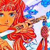 izilen: Yoko Nakajima looking fierce (My favourite fictional empress)