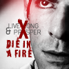 athousanderrors: Spock, the words 'live long and prosper' crossed out & replaced with 'DIE IN A FIRE' (spock wants you to DIAF)