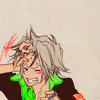 rinja: gokudera being frustrated (argh what's the word)