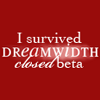 domtheknight: text: i survived closed beta (closed beta survival)