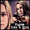 briarwood: Supernatural: Jo Fights Like A Girl (SPN Jo Fighter)