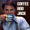 julesjones: Jack Harkness and a mug of coffee, Torchwood (coffee and Jack)