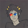 elendraug: Sollux Captor, looking a bit tired and irritated. (Homestuck - Sollux Captor)