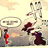 foreden: (champloo - trio - going west fighting wa)