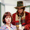 agapi42: Four offers Sarah Jane a jelly baby (Who - Jelly baby?)