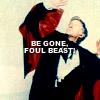 agapi42: Three banishes foul beast (Who - Three begone)
