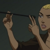 thenewblack: artemis sighting along an arrow (checking gear)