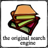 """trouble: A pile of books with text """"Original Search Engine"""" (books- original search engine)"""