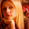 lokifan: Close-up of S4!Buffy looking depressed (Buffy: blah)