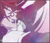 hokuton_punch: Screenshot of Grell from the Kuroshitsuji anime with sparkles. (kuroshitsuji grell sparkles)