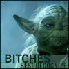 wordplay: (Ghetto Yoda)