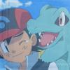 rosakai: (Ash and Totodile)