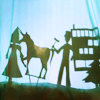 scintilla10: Annie, Abed & Troy's shadow puppet show (Community puppet theatre)