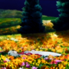 "healeveryone: Another ""resting among flowers"" icon. (the beginning)"