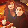 lokifan: Neal and El looking up like 'we're not doing anything' (El/Neal: caught)