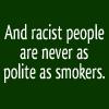 slurred_speech: (smokers)