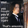 solo: (Kame I don't think so!)