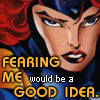 "applecameron: Marvel Girl ""Fear Me"" LJ icon (Default)"