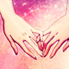 briar_pipe: Two women's hands lying side by side, pinkies overlapping (Hands clasped (Aoi Hana))