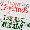 tinfoil_hats: All I want for Christmas is THE NEXT GOLDEN SUN ALREADY ([christmas] the next gs dammit)