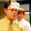 ursamajor: Dwight is not Asian. (stir the melting pot)