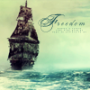 blackpearlsails: The Black Pearl is Freedom (Pearl)