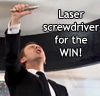 visionshadows: (laser screwdriver for the win)