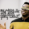 ursamajor: Geordi passes the buck (when i have some advice)