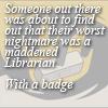 libskrat: (pratchett librarian)