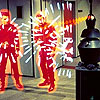 iamnomad: Action scene from the original Star Trek. Redshirts get vaporized. You know the drill. (Sterilize!)