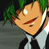 noletters: (Hazama; Hate to be the bearer of bad new)