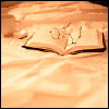 ursamajor: books on bedsheets (deny the existence of tomorrow)