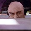 proudambassador: Londo Mollari is peering over the top of a counter. (Sneaking)